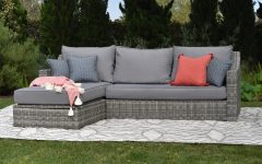 Vallauris Storage Patio Sectionals With Cushions