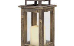 Outdoor Wood Lanterns