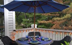 Small Patio Tables with Umbrellas