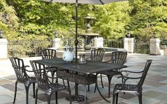 Patio Dining Umbrellas