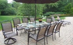 Patio Sets with Umbrellas