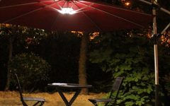 Patio Umbrellas with Led Lights