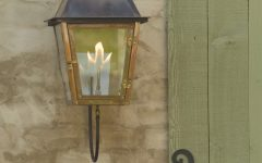 Outdoor Wall Gas Lights