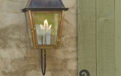 Outdoor Wall Gas Lights