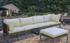 Honeycutt Patio Sofas with Cushions