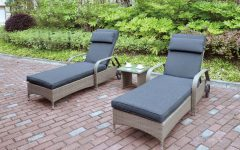 All-Weather Single Outdoor Adjustable Loungers