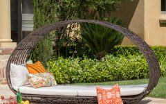 Lavina Outdoor Patio Daybeds with Cushions