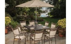 Patio Umbrellas for Bar Height Tables
