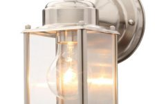 Nickel Outdoor Wall Lighting