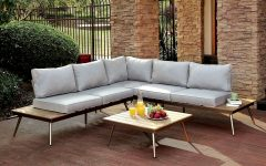 Brecht Patio Sectionals with Cushions