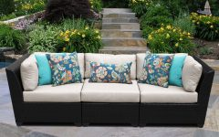 Camak Patio Sofas with Cushions