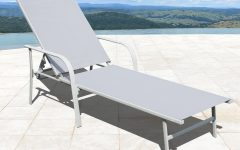 Antonio Sling Fabric Adjustable Outdoor Chaise Lounges
