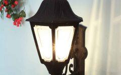 Garneau Black Wall Lanterns