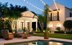 Outdoor Hanging Pool Lights