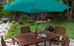 Patio Furniture With Umbrellas