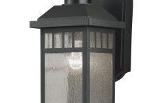 Rockmeade Black 11'' H Outdoor Wall Lanterns