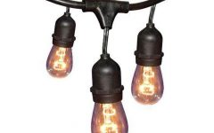 Hanging Outdoor String Lights at Home Depot