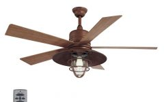 Rustic Outdoor Ceiling Fans