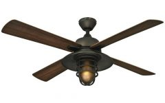 Rustic Outdoor Ceiling Fans With Lights