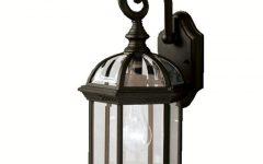 Bellefield Black 15'' H Outdoor Wall Lanterns