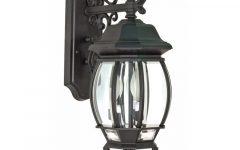 Gillian 3 – Bulb 22.75'' H Beveled Glass Outdoor Wall Lanterns