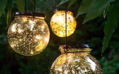 Outdoor Hanging Globe Lanterns