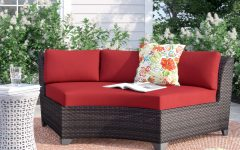 Tegan Patio Sofas with Cushions