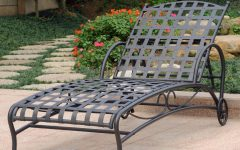 Outdoor Multi-position Chaise Lounges