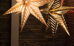 Outdoor Hanging Star Lanterns