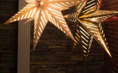 Outdoor Hanging Star Lanterns