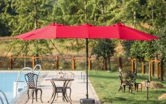 Zadie Twin Rectangular Market Umbrellas