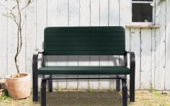Outdoor Patio Swing Porch Rocker Glider Benches Loveseat Garden Seat Steel