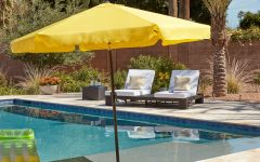 Vinyl Patio Umbrellas with Fringe