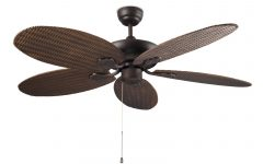 Wicker Outdoor Ceiling Fans