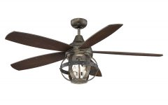 Wilburton 5 Blade Ceiling Fans With Remote