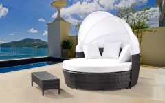 Carrasco Patio Daybeds With Cushions