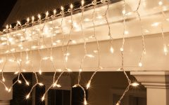 Outdoor Hanging Icicle Lights