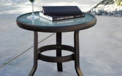 Patio Umbrellas with Accent Table