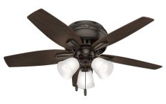 Newsome Low Profile 5-blade Ceiling Fans