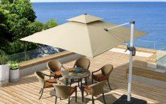 Maidste Square Cantilever Umbrellas
