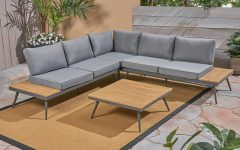 Carina 4 Piece Sectionals Seating Group With Cushions