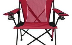 Iron Frame Locking Portable Folding Chairs
