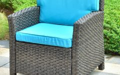 Stapleton Wicker Resin Patio Sofas with Cushions