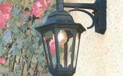 Ciotti Black Outdoor Wall Lanterns