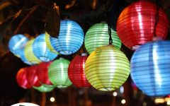 Outdoor Globe Lanterns