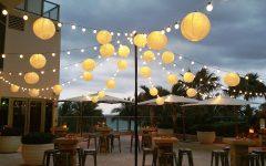 Outdoor Hanging Paper Lanterns